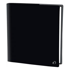 Agenda QUOVADIS EXECUTIF Touch - Noir - 16x16cm - 1 semaine sur 2 pages