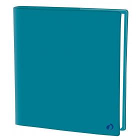 Agenda QUOVADIS EXECUTIF Touch - Bleu prusse - 16x16cm - 1 semaine sur 2 pages