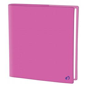 Agenda QUOVADIS EXECUTIF Touch - Rose Miami - 16x16cm - 1 semaine sur 2 pages