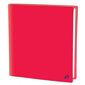 Agenda QUOVADIS EXECUTIF Touch - Rouge corail - 16x16cm - 1 semaine sur 2 pages