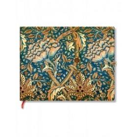 Livre d'or PAPERBLANKS William Morris Danse du Vent format - PB26051