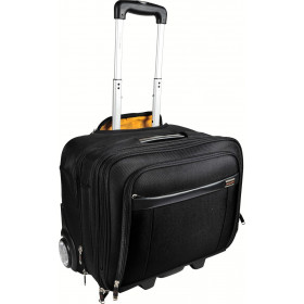 """Valise à roulettes EXACOMPTA Exatrolley pour PC jusqu'à 15,6"""" - 45x25,5x39,5cm"""