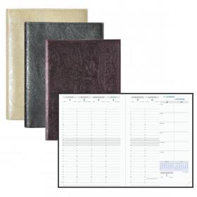 Agenda EXACOMPTA Visuel Cashmere - 21x15cm - 1 semaine sur 2 pages (COULEURS ALEATOIRES)