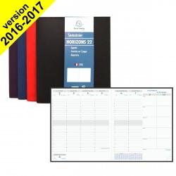 DESTOCKAGE - Agenda EXACOMPTA Horizon 22 Winner - 225x185mm - 1 Semaine sur 2 pages (COLORIS ALEATOIRES)