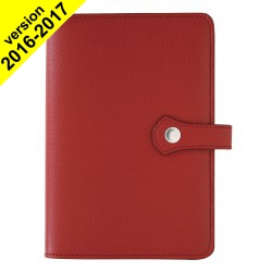 Agenda organiseur EXACOMPTA Exatime 17 light Pagode rouge - 190 x 135 mm