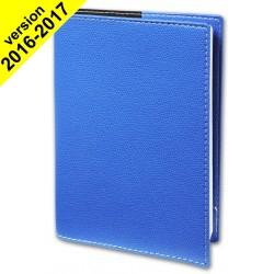 Agenda QUOVADIS EUREQUART couverture Club bleu roi 24x30cm - 1 semaine sur 2 pages