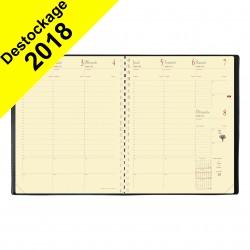 Agenda QUOVADIS Manager® 21 x 27 cm - 1 semaine sur 2 pages - spirale