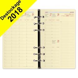Recharge QUOVADIS Timer 17 Prestige 10 x 17 cm janvier - décembre + supplément septembre à décembre 16 mois