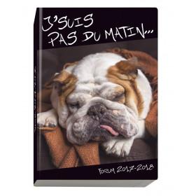 Agenda scolaire EXACOMPTA 12x17 cm - forum Funny Pets Chien - 1 jour par page idéal collège / lycée
