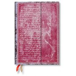 Agenda PAPERBLANKS Jane Austen, Persuasion - Midi - 130×180mm - 1 semaine sur 2 pages vertical