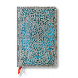 Agenda PAPERBLANKS (Version ANGLAISE) Maya Bleu - Mini - 95×140mm - 1 semaine sur 2 pages horizontal