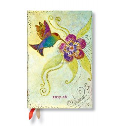 Agenda PAPERBLANKS (Version ANGLAISE) Colibri - Mini - 95×140mm - 1 semaine sur 2 pages horizontal