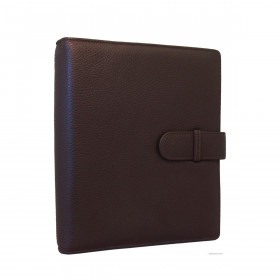 Agenda organiseur EXACOMPTA Exatime 21 cuir Cali noir - 230x190mm