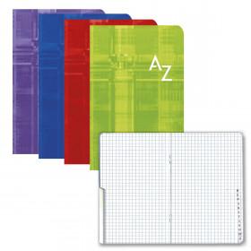 Répertoire CLAIREFONTAINE 11x17cm - 96pages 5x5mm (COULEURS ALEATOIRES)