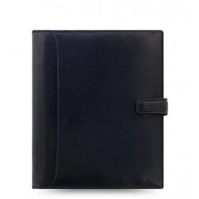 Organiseur FILOFAX A5 23,4x20,3cm FINSBURY FRANBOISE en cuir de vachette - 1 semaine sur 2 pages VERTICAL