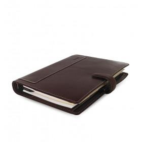 Organiseur FILOFAX A5 23,4x20,3cm HOLBORN Marron en cuir buffle - 1 semaine sur 2 pages VERTICAL