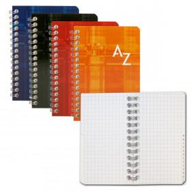 Répertoire CLAIREFONTAINE 9,5x14cm - 100pages 5x5mm (COULEURS ALEATOIRES)