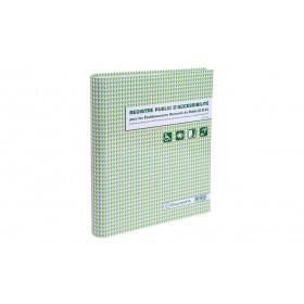 Registre public d'accessibilité pour Etablissement recevant du public EXACOMPTA 32x26cm - 37 pages