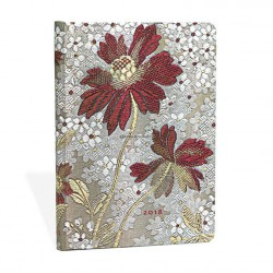 Agenda PAPERBLANKS Belle Dame - Midi - 120×170mm - 1 semaine sur 2 pages horizontal
