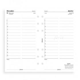 Recharge agenda FILOFAX organiseur PERSONAL - 1 jour par page - 95x171mm