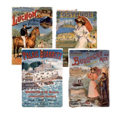Plaque EXACOMPTA pour bloc éphéméride affiches anciennes - 260x180mm (VISUELS ALEATOIRES)