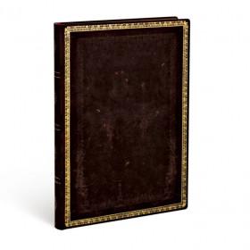 Carnet souple PAPERBLANKS Ligné - Ultra 180×230mm - Flexis série Noir Marocain - 176 pages