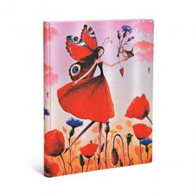 Carnets Souvenirs 5 Ans PAPERBLANKS Carnets 5 Ans - Ultra 180×230mm série Champ de Coquelicot