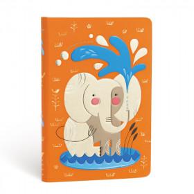 Carnet PAPERBLANKS Non ligné - Mini 95×140mm - Les Amis Animaux de Tracy Walker série Le Bébé Éléphant