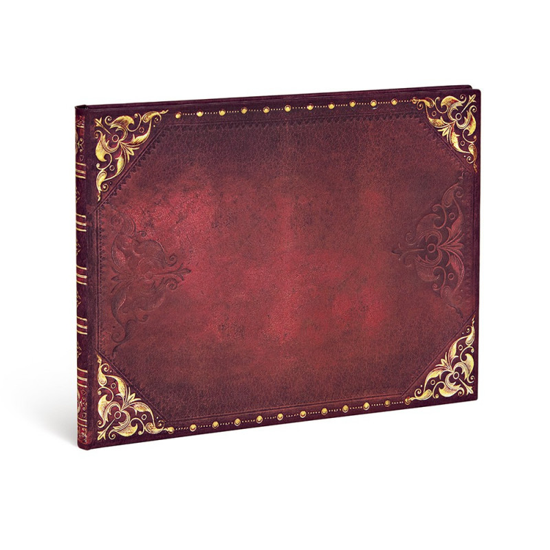 Carnet PAPERBLANKS Non ligné - Livred'Or 230×180mm - Les Nouveaux Romantiques série Glamour Urbain