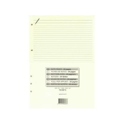 Recharge QUOVADIS Bloc Notes Ivoire 21x29.7cm pour Timer 29