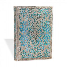 Répertoire PAPERBLANKS - Midi 13x18cm - Maya Bleu - 144 pages