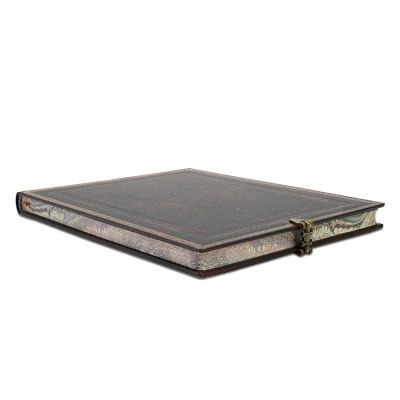Carnet Grand PAPERBLANKS série Reliure à l''Ancienne modèle Noir Marocain - PB25948