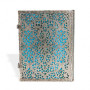 Carnet PAPERBLANKS Collection Filigrane Argenté Maya Bleu format Ultra - PB25603