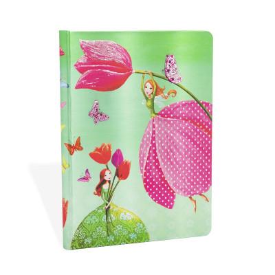 Carnet PAPERBLANKS non ligné - Midi 120×170mm - Collection Mila Marquis série Joyeux Printemps