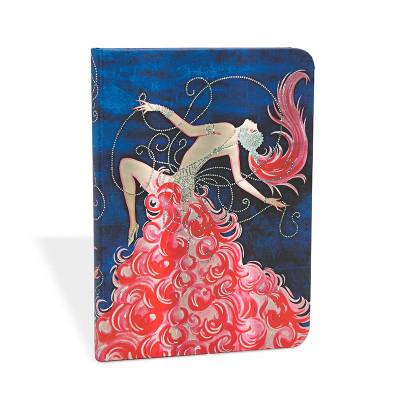 Carnet PAPERBLANKS Mini 95 x 140 mm série Vintage Vogue - modèle Cabaret Cabaret