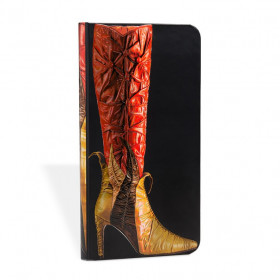 Carnet PAPERBLANKS ligné - Slim 9x18cm - Fabuleuses Chaussures Tentatrice - 176 pages