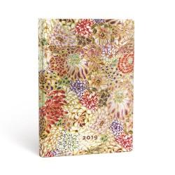 Agenda PAPERBLANKS Kikka - Maxi - 135×210mm - 1 semaine sur 2 pages Vertical