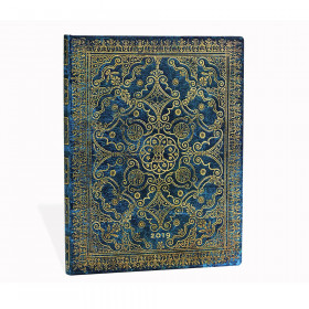 Agenda PAPERBLANKS Azur - Grand - 210×300mm - 1 semaine sur 2 pages Vertical