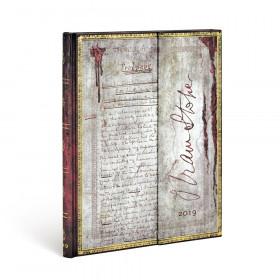 Agenda PAPERBLANKS Bram Stoker, Dracula - Ultra - 180×230mm - 1 semaine sur 2 pages Vertical