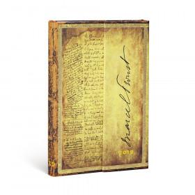 Agenda PAPERBLANKS Proust, À la Recherche du Temps Perdu - Mini - 100×140mm - 1 semaine sur 2 pages Horizontal
