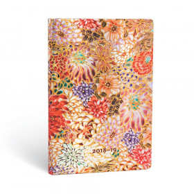 Agenda (version ANGLAISE) PAPERBLANKS 2019 Kikka - Maxi - 135×210mm - 1 semaine sur 2 pages Vertical