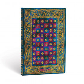 Agenda (version ANGLAISE) PAPERBLANKS 2019 Celeste - Mini - 95×140mm - 1 semaine sur 2 pages Horizontal