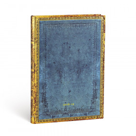 Agenda (version ANGLAISE) PAPERBLANKS 2019 Riviera - Midi - 130×180mm - 1 semaine sur 2 pages Horizontal