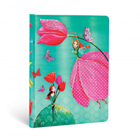 Agenda (version ANGLAISE) PAPERBLANKS 2019 Joyous Springtime - Midi - 120×170mm - 1 semaine sur 2 pages Horizontal