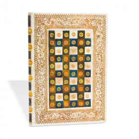 Agenda PAPERBLANKS Aureo - Ultra - 180×230mm - 1 semaine sur 2 pages Vertical