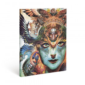 Agenda PAPERBLANKS Dharma Dragon - Ultra - 180×230mm - 1 semaine sur 2 pages Vertical