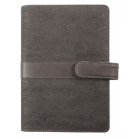 Agenda organiseur EXACOMPTA Exatime 17 Kelly anthracite - 190x135mm