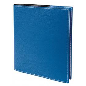 Agenda QUOVADIS EXECUTIF Club Bleu Roi - 16x16cm - 1 semaine sur 2 pages Verticale