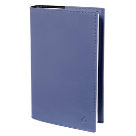 Agenda QUOVADIS MINISTRE Soho Bleu ardoise - 16x24cm - 1 semaine sur 2 pages Verticale