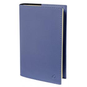 Agenda QUOVADIS PRESIDENT Prestige Soho Bleu ardoise - 21x27cm - 1 semaine sur 2 pages Verticale
